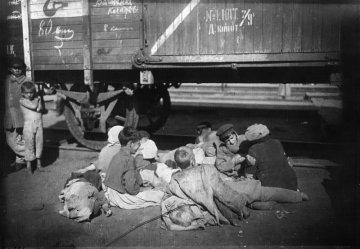Фотографии советских беспризорников 1920-х годов